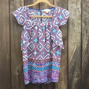 Anthropologie Meadow Rue Top